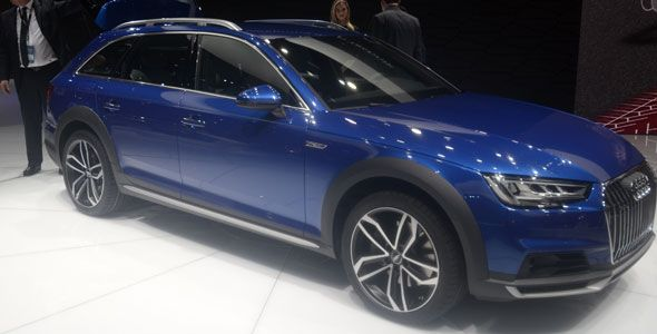 El nuevo Audi A4 allroad quattro debuta en Detroit 2016