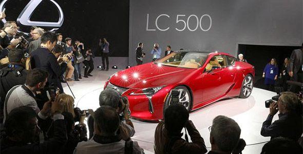 Lexus LC 500: un padre con espíritu joven en Detroit