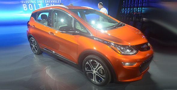 Chevrolet Bolt EV 2017, presentado en Detroit
