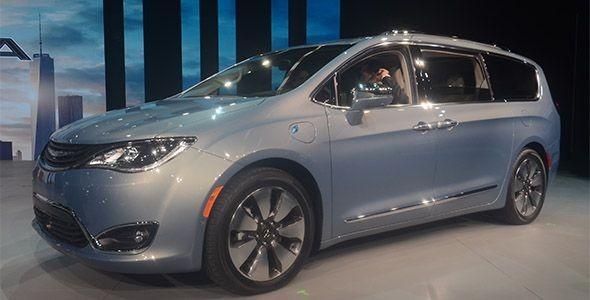 Chrysler Pacifica en Detroit: lo de siempre, como nunca