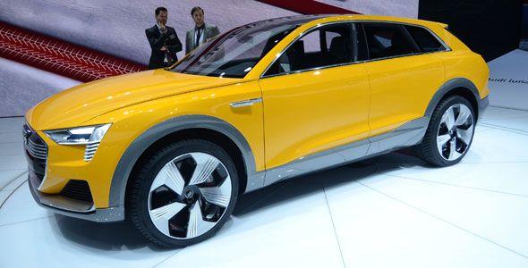 Audi h-tron, el SUV del futuro es rápido y eficiente