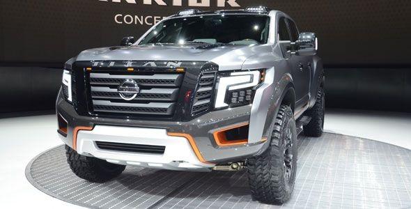 Titan Warrior, así se llama el pick-up más brutal de Nissan