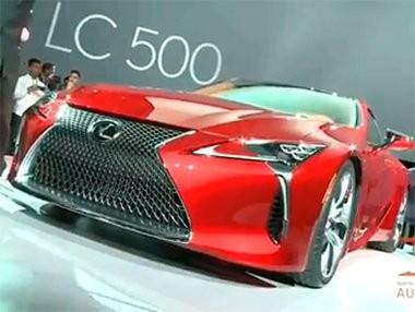 Las novedades de Lexus en Detroit 2016 en vídeo