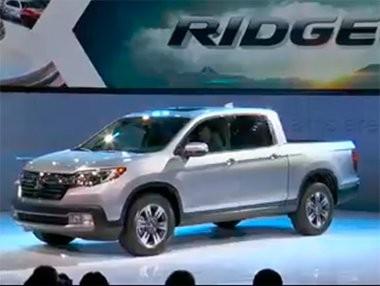 Nuevo Honda Ridgeline Pick Up en Detroit 2016