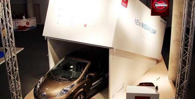 Nuevo Nissan Leaf en el MW
