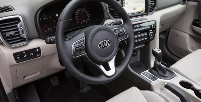 Interior del nuevo Kia Sportage 2016