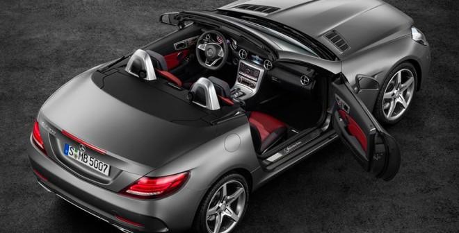 El nuevo Mercedes SLC se descubre en Ginebra 2016