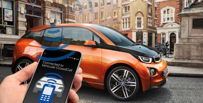 """BMW presenta la tecnología 'Vehicular CrowdCell"""""""