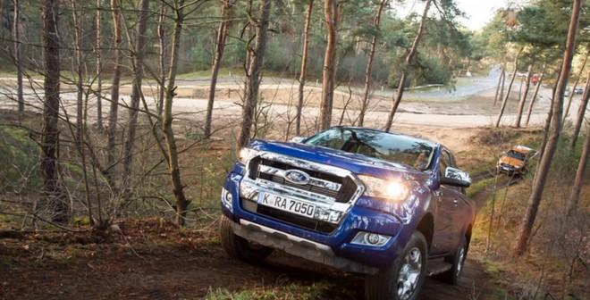 Presentación y prueba del nuevo Ford Ranger 2016