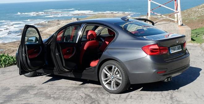 Prueba BMW 320d 2016, Baiona, Rubén Fidalgo