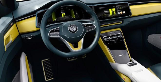 VW T-Cross Breeze Concept, el SUV que asombra en Ginebra 2016