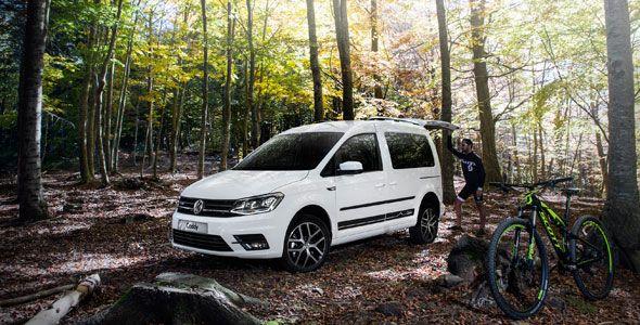 Nuevo Volkswagen Caddy Outdoor, ya a la venta
