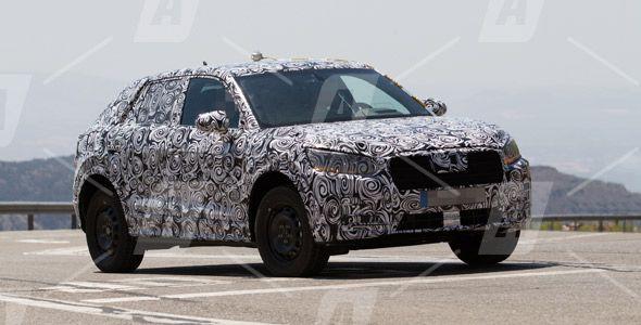 Fotos espía del Audi Q2