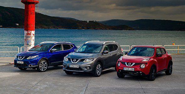 Nissan se afianza como líder en crossovers en 2015