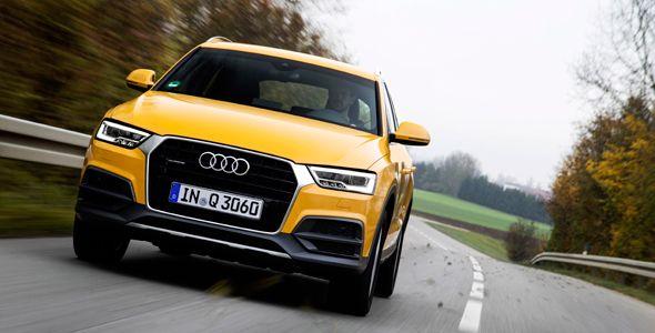 Nuevo equipamiento para el Audi Q3 y Q5