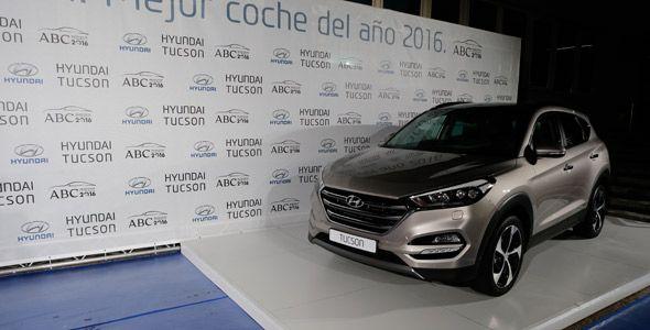 El Hyundai Tucson recibe el premio 'Mejor coche del año 2016 ABC'