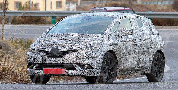 Fotos espía del nuevo Renault Scénic 2016