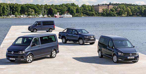 Presentación y prueba: gama de comerciales de Volkswagen