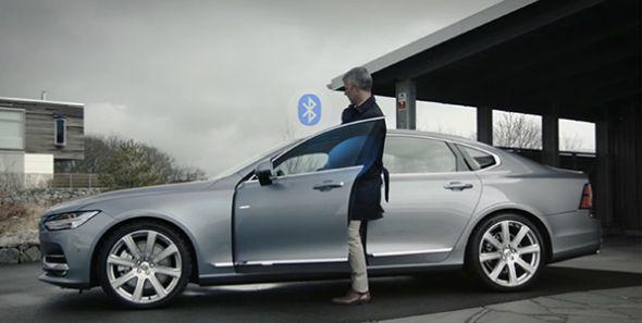 Volvo venderá coches sin llave en 2017