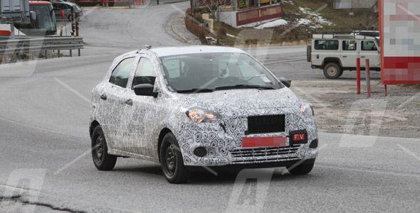 Fotos espía del nuevo Ford Ka