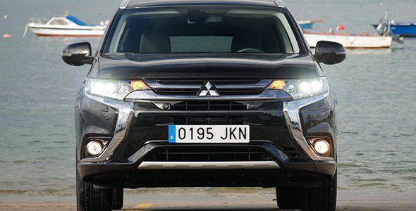 Prueba del Mitsubishi Outlander PHEV 2016