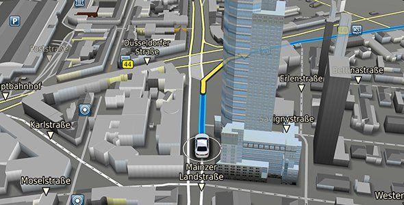 Navegadores Bosch NDS y mapas 3D en el MWC Barcelona 2016
