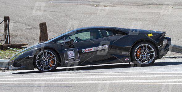 Fotos espía del Lamborghini Huracán Superleggera