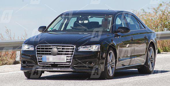 Fotos espía del Audi S8 TDi