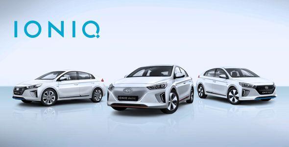 IONIQ, la nueva gama eléctrica de Hyundai en Ginebra