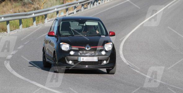 Fotos espía del Renault Twingo Sport