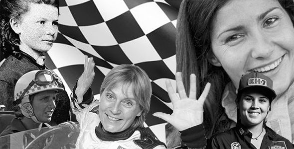 8 historias que demuestran que el automovilismo también es cosa de mujeres