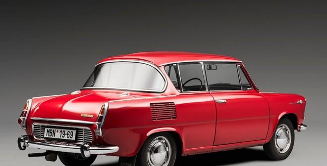 50 aniversario del Skoda 1000 MBX