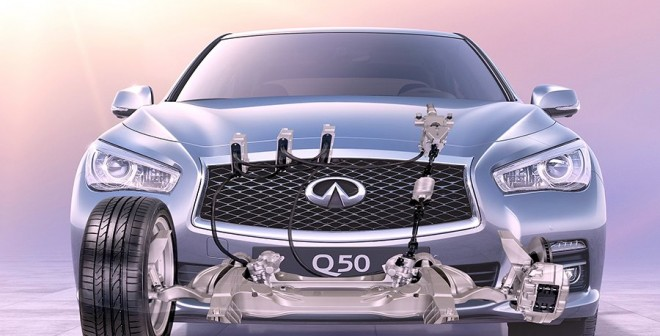 Infiniti Q50 Steer by Wire