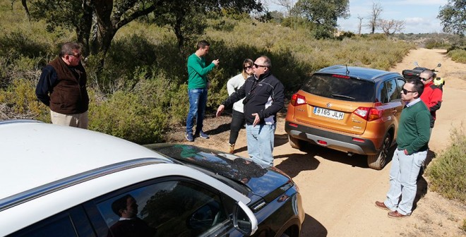 Los ganadores de Autocasion.com en la Suzuki 4x4 Experience, Ruben Fidalgo