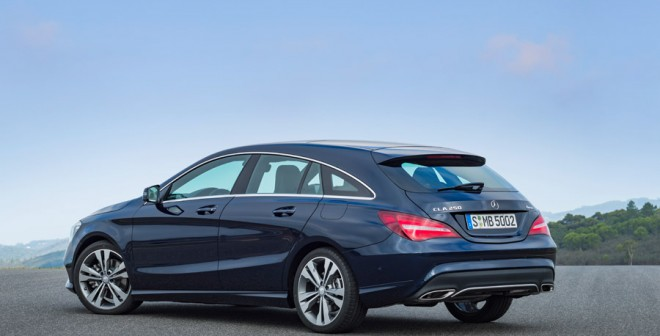 Mercedes CLA 250 4MATIC Shooting Brake 2016 3/4 trasera