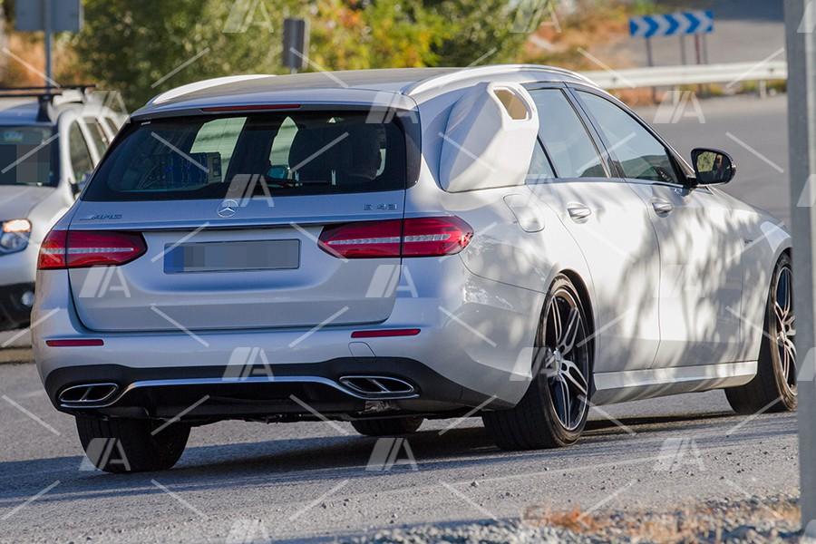 Nuevas fotos espía del nuevo Mercedes E43 AMG Estate