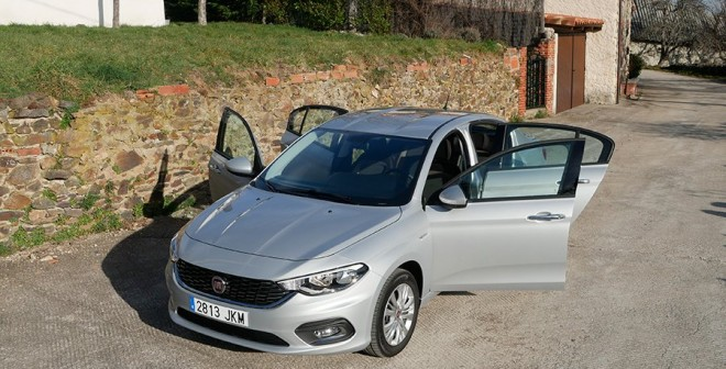 Prueba del Fiat Tipo 1.4 Opening Edition gasolina 2016 13