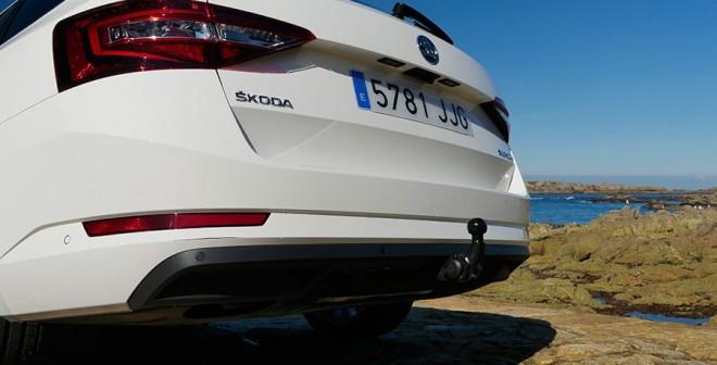 Prueba del Skoda Superb Combi 1.6 TDi 120 CV DSG 2015, Coruña, Rubén Fidalgo