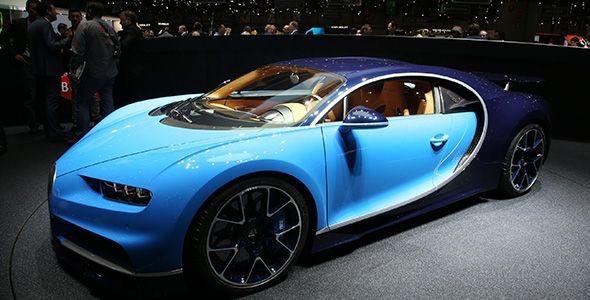 El Bugatti Chiron, uno de los grandes protagonistas del Salón de Ginebra