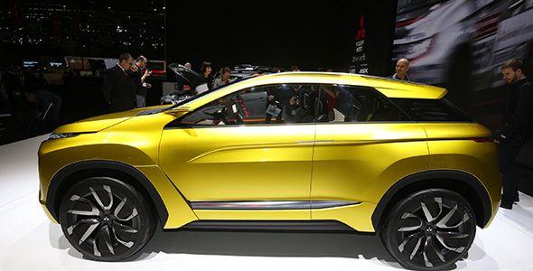 Mitsubishi eX Concept, el futuro de su gama SUV