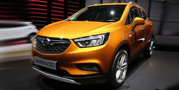 Opel Mokka X 2016, en el Salón de Ginebra
