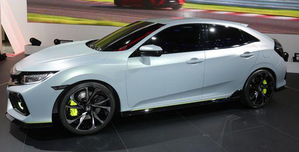 El Honda Civic cinco puertas Prototype debuta en el Salón de Ginebra