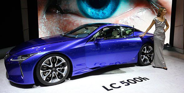 El Lexus LC 500h destaca en Ginebra 2016