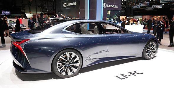 El Lexus LF-FC Concept visita Ginebra