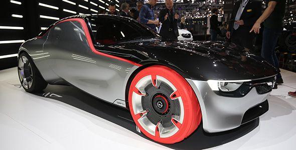 Opel GT concept: un coche muy inteligente que veremos en Ginebra