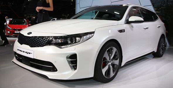 El Kia Optima Sportswagon debuta en el Salón de Ginebra
