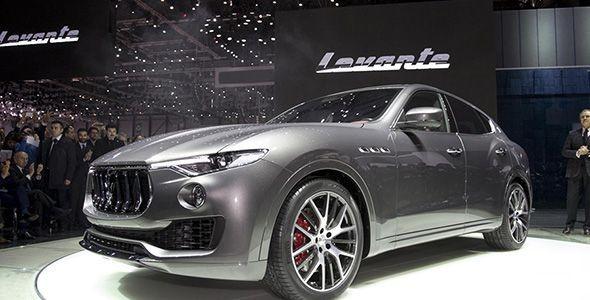 Maserati Levante, el primer SUV de la marca, listo para el Salón de Ginebra