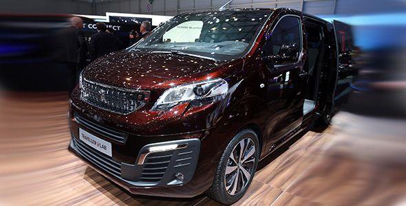 Peugeot Traveller i-Lab: la conectividad hecha vehículo, en Ginebra