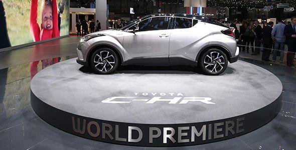 Toyota C-HR: París, Frankfurt… y al final del camino, el Salón de Ginebra