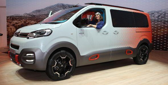 Citroën Spacetourer Hyphen: quién dijo que las furgonetas eran aburridas